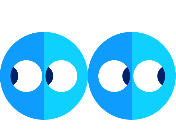 spunout dude Two emoji people looking away from one another