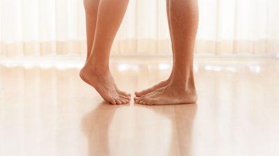 Couple-standing-feet