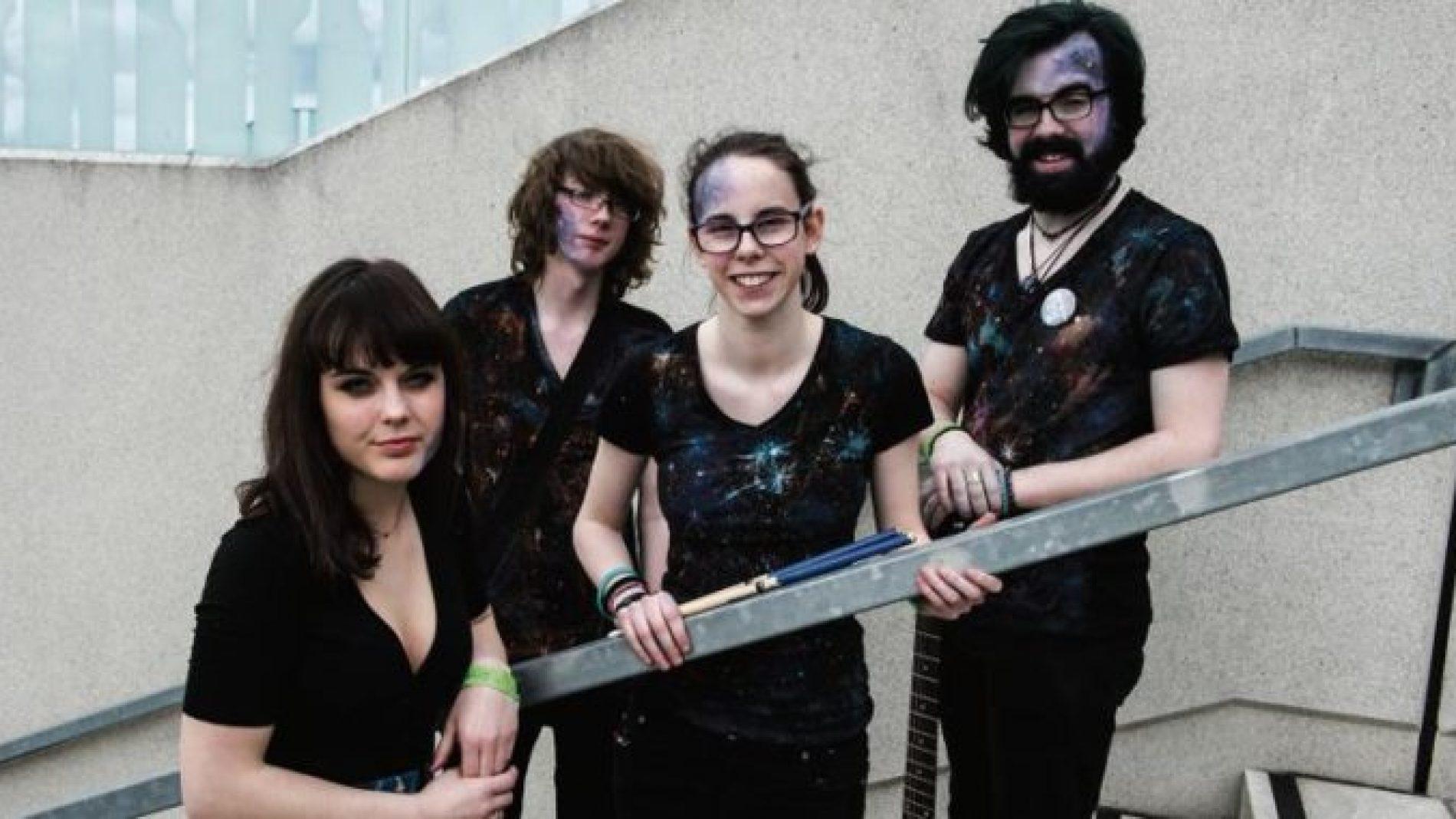 four piece band called janaj