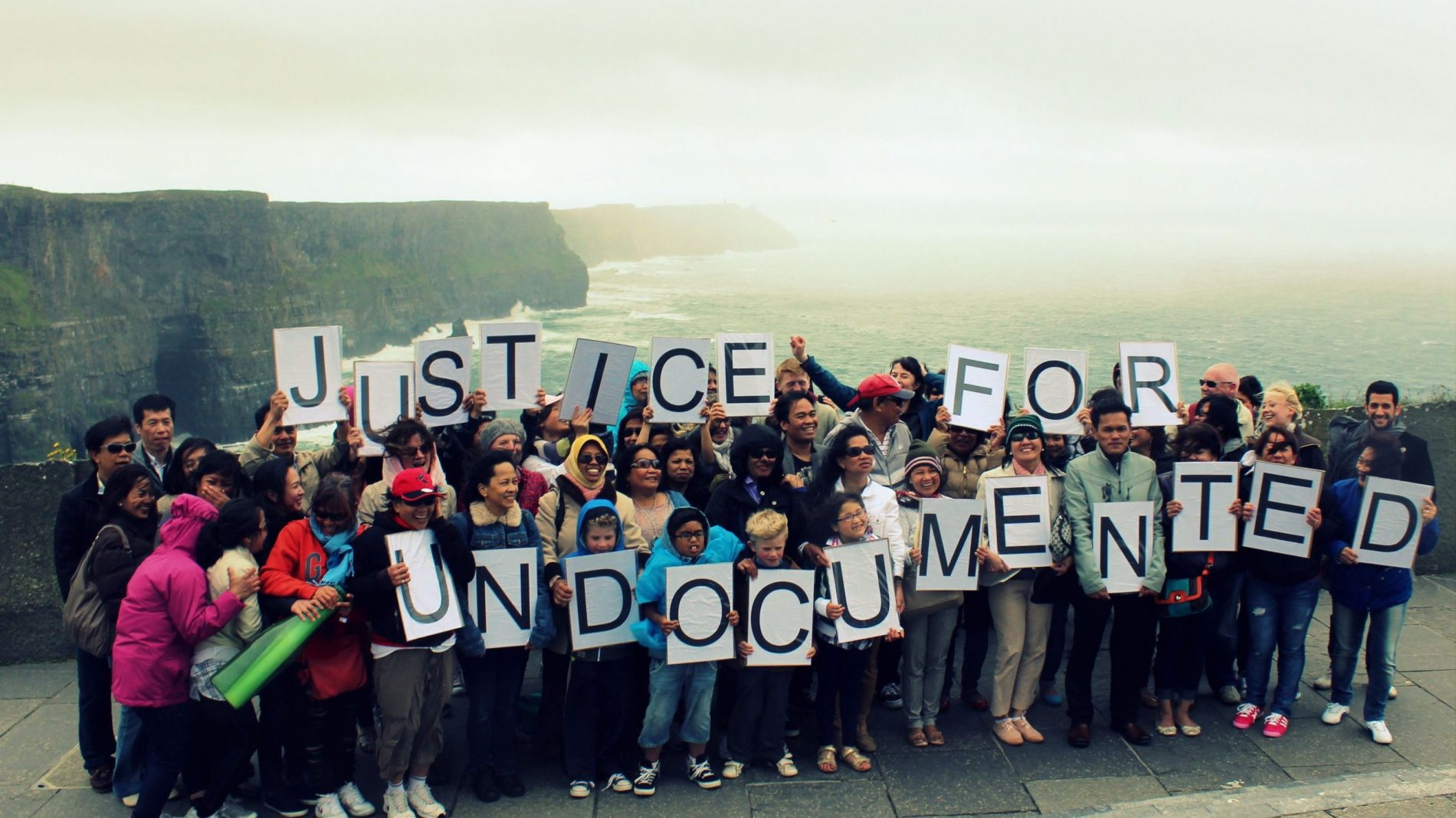 Justice for Undocumented group picture