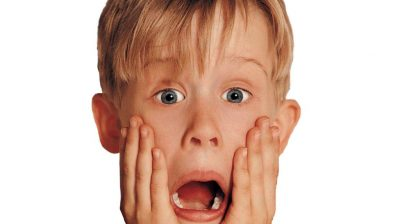 picture of Macauley Culkin from Home Alone