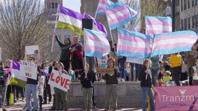Asheville Transgender Rally