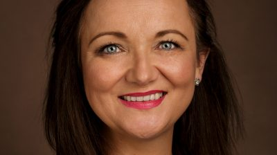 Business headshot of Maria O Loughlin by Roger Kenny Photography