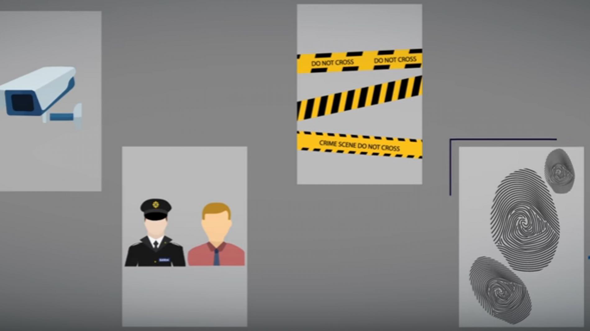 Crime Victims Helpline Video screengrab