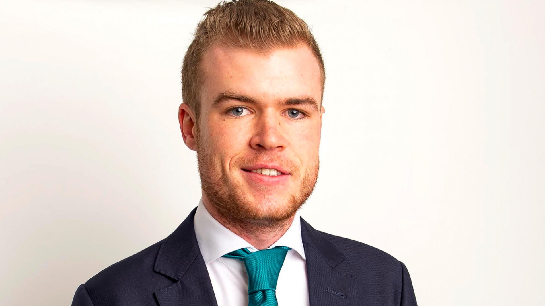 Sinn Fein general election candidate Louis O'Hara