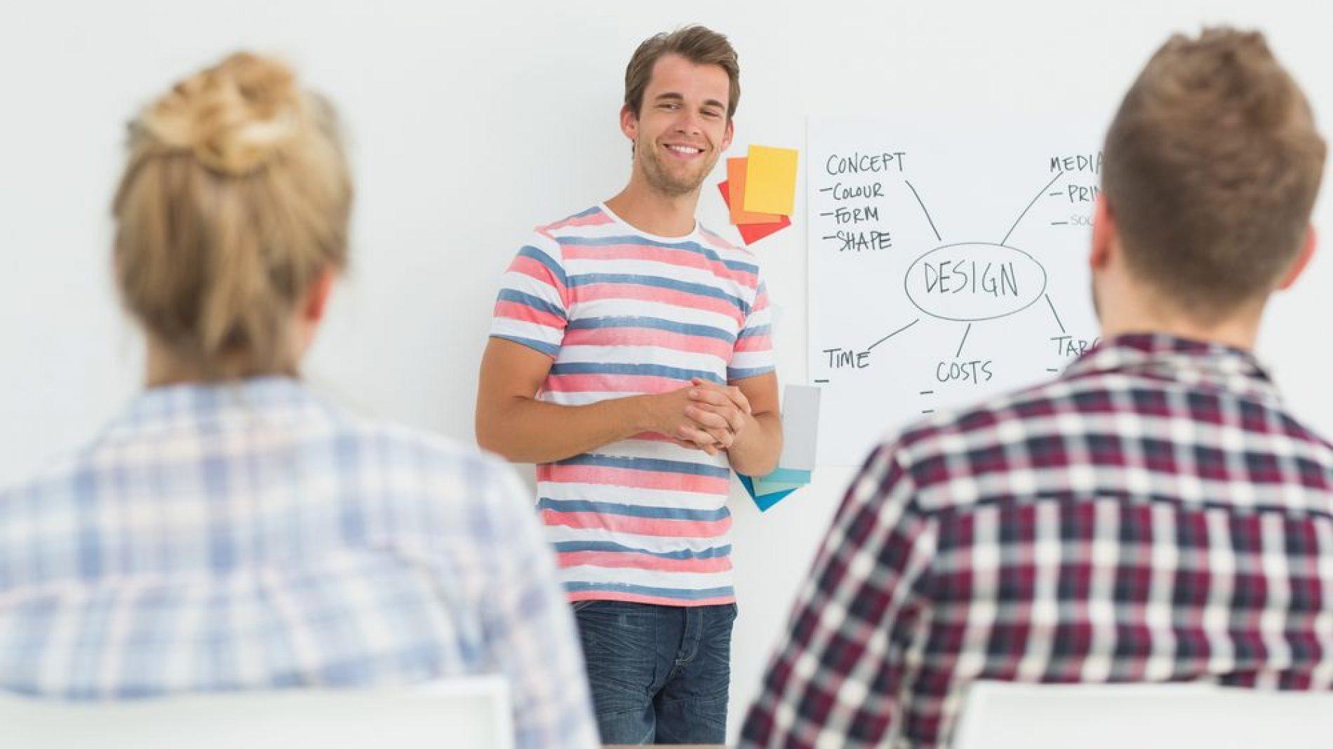 Smiley-guy-giving-presentation