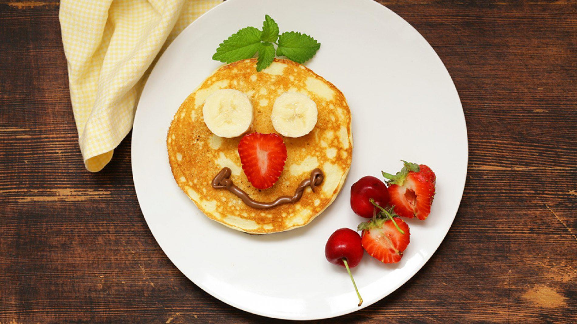 A lovely smiling pancake