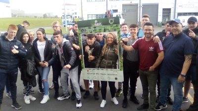 Traveller youth group in Ireland - image from the Irish Traveller Movement