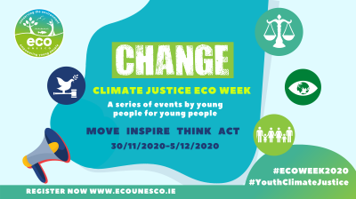 ECO-UNESCO Eco Week poster
