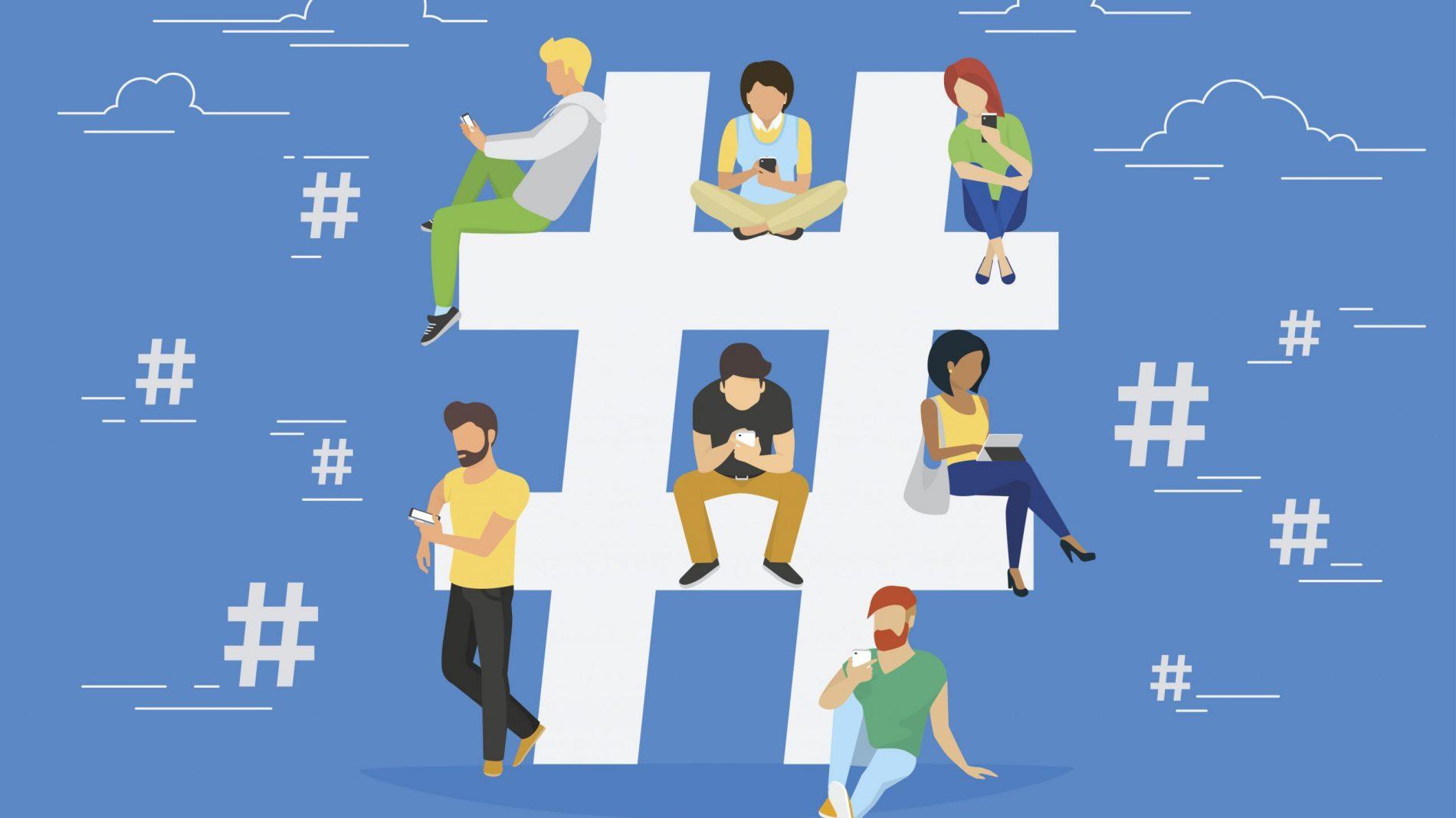 Twitter Hashtag Animation