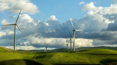 Wind turbines in Irish fields to fight climate change
