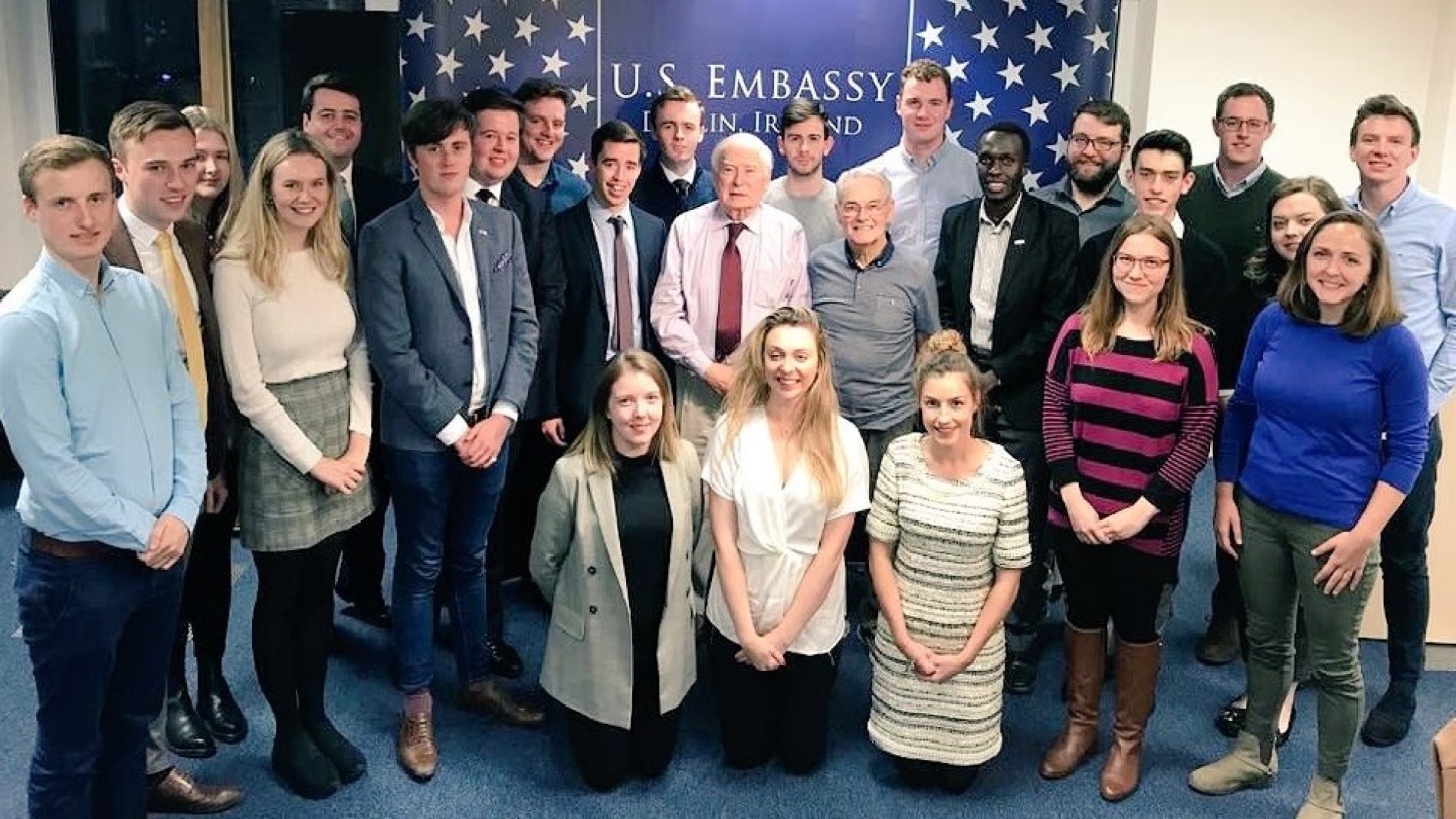 The US Embassy Youth Council in 2018
