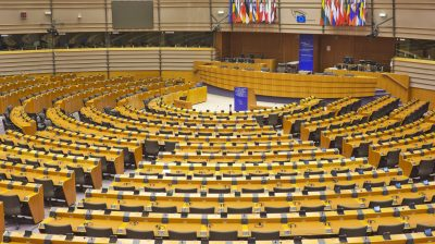 hemicycle in the european parliament