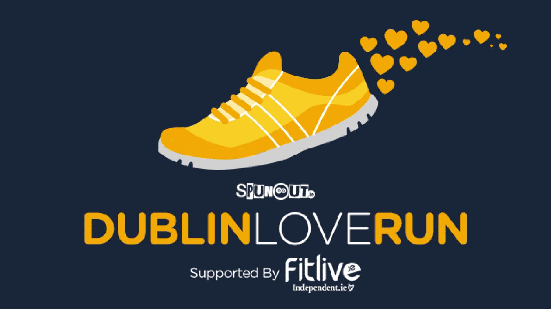 Dublin Love Run poster