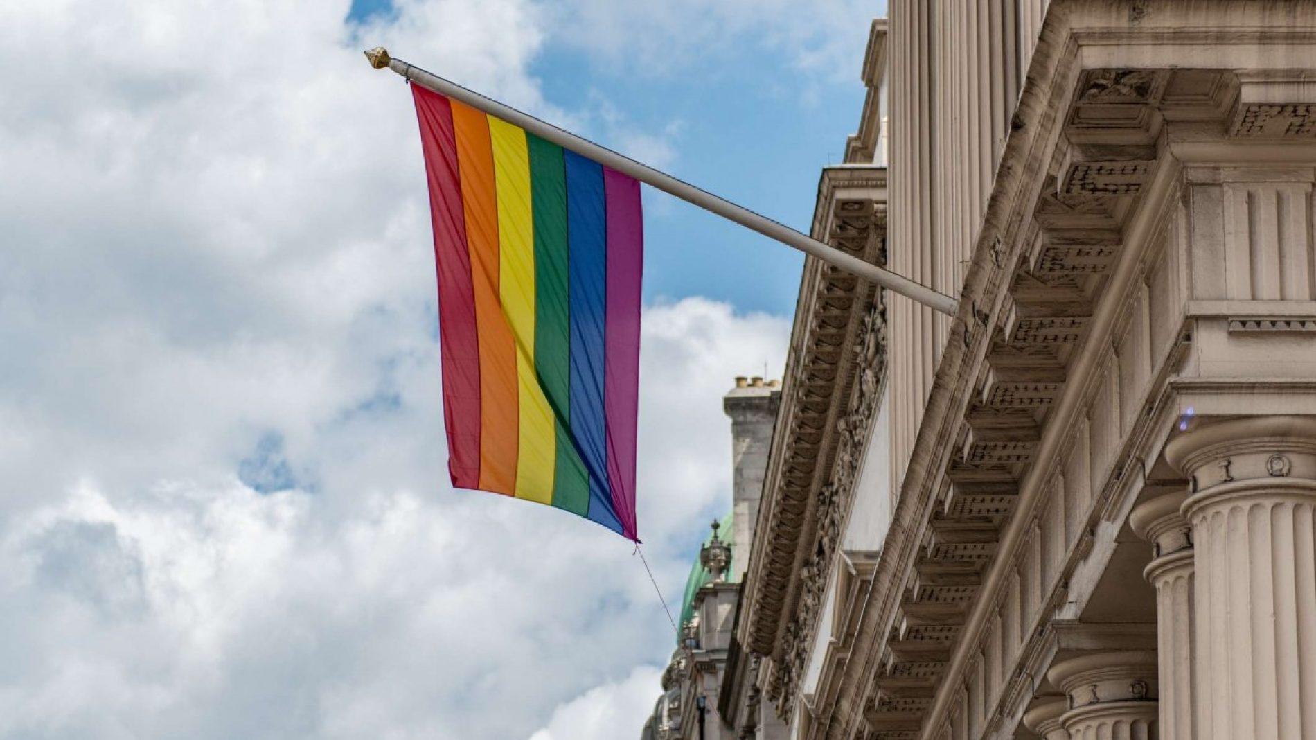 prideflagonbuilding