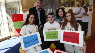 young people involved in youthbank