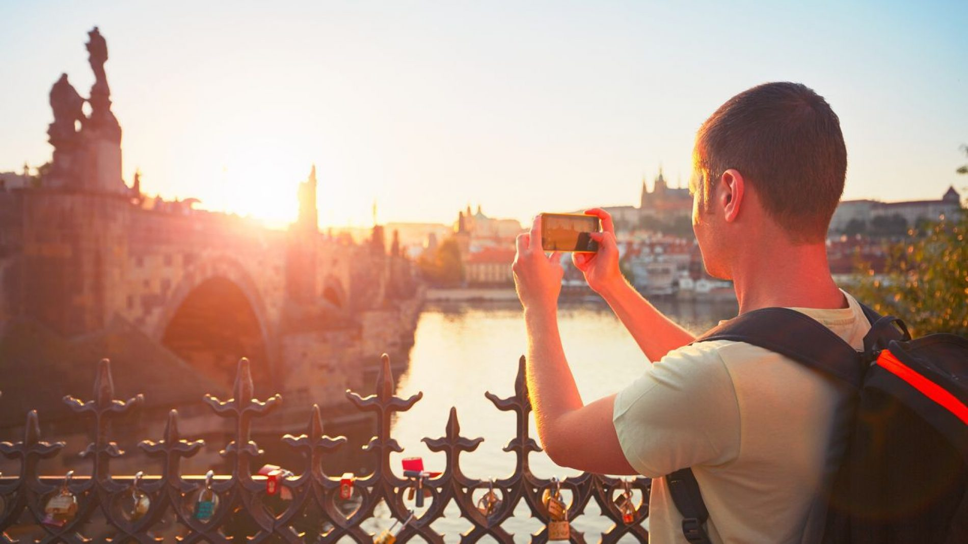 Tourist in Prague