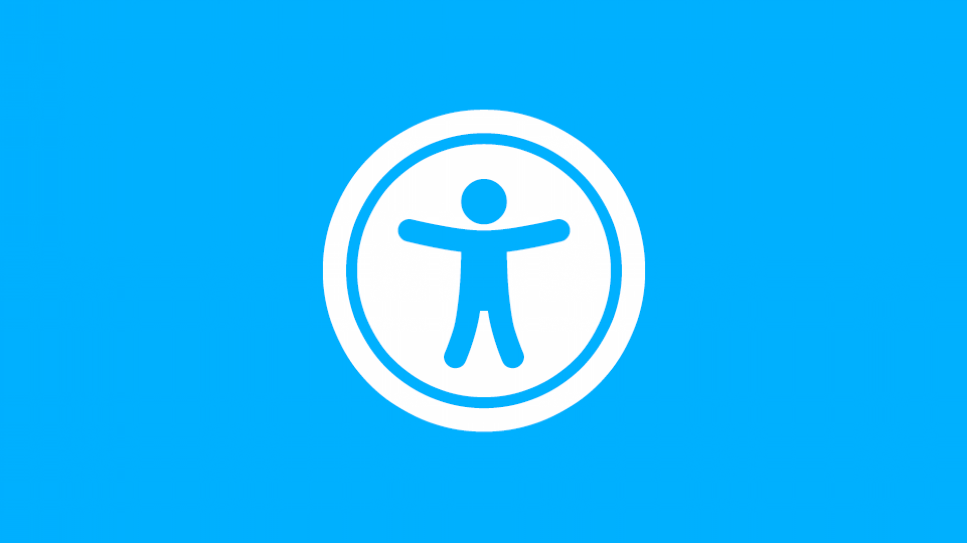 The accessibility icon